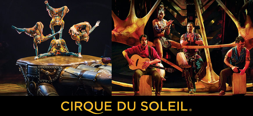 Information about Cirque Du Soleil tickets. Cheap tickets for Cirque Du Soleil.